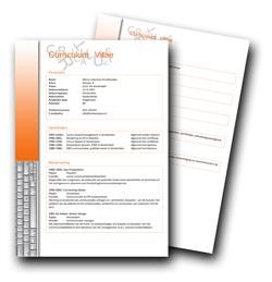 Voorbeeld cv , maken curriculum vitae , gratis sollicitatiebrief